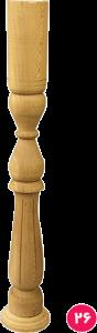 نرده گلدانی شیاری ۸×۸