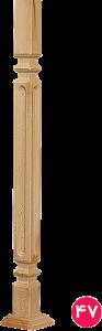نرده چهارگوش یک شیاری ۵×۵